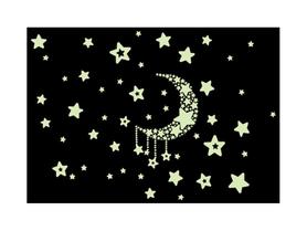 Naklejka na ścianę fluorescencyjne Niebo WS-0150