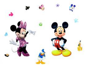 Naklejka na ścianę Myszka Mickey WS-0164