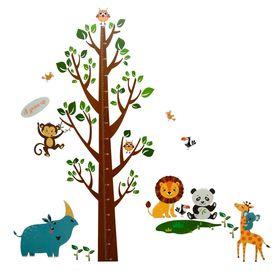 Naklejka / Miarka wzrostu Drzewo WS-0166