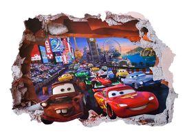 Naklejka na ścianę Auta Cars Dziura WS-0223