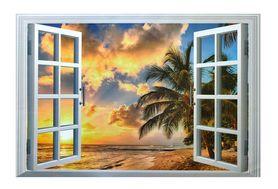 Naklejka na ścianę okno 3D WS-0264
