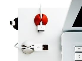 Organizer kabli Cable Drop 6 szt. 7 kolorów