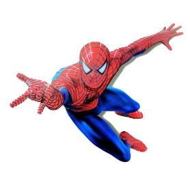Naklejka na ścianę Spiderman 3D WS-0007