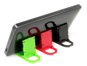 Plastikowa podstawka pod telefon 3 kolory