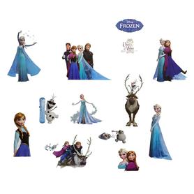 Naklejki na ścianę Kraina Lodu Frozen Elsa Olaf WS-0131