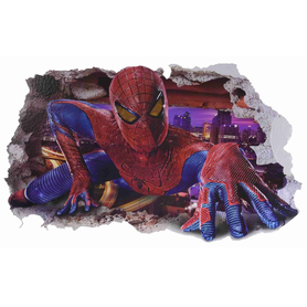 Naklejka na ścianę Spiderman WS-0135
