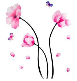Naklejka na ścianę Kwiaty WS-0013