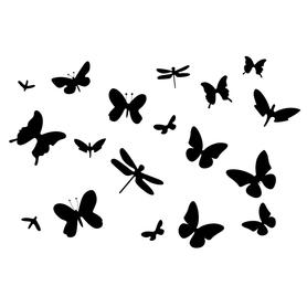 Naklejki na ściane Motyle WS-0171