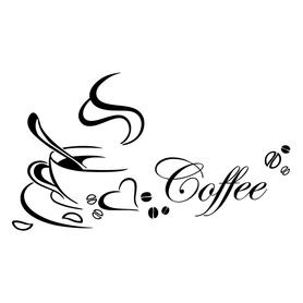 Naklejka na ścianę Coffee WS-0179