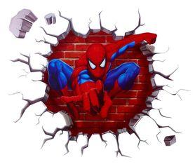Naklejka na ścianę Spiderman WS-0200