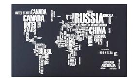 Naklejka na ścianę Mapa Świata WS-0262