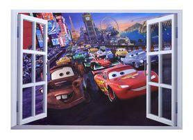 Naklejki na ścianę Auta Cars Okno WS-0233