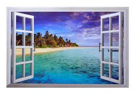 Naklejka na ścianę okno 3D WS-0249