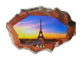 Naklejka na ścianę Widok 3D Paryż WS-0224