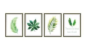 Naklejki na ścianę Obrazy Rośliny WS-0270