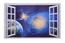 Naklejka na ścianę Okno 3D Kosmos WS-0279