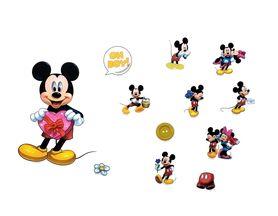 Naklejki na ścianę Myszka Mickey WS-0321