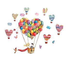Naklejki na ścianę Balony WS-0333
