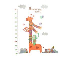 Naklejka na ścianę Miarka Wzrostu Żyrafa WS-0353