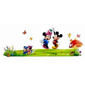 Naklejka na ścianę Myszka Mickey WS-0085